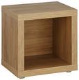 Beistelltisch Eichefarben - Eichefarben, Holzwerkstoff (44/46/35cm)