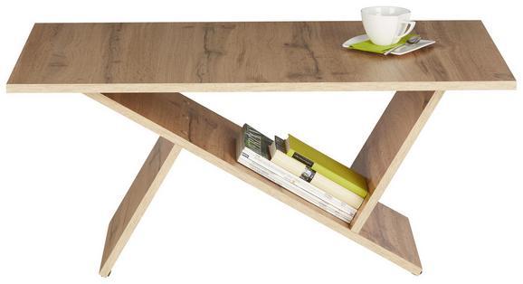 Couchtisch Eichefarben - Eichefarben, MODERN, Holzwerkstoff (100/45/60cm) - Modern Living