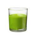 Sveča V Kozarcu Mona  -top- - siva/zelena, steklo (7,2/8,3cm) - Mömax modern living