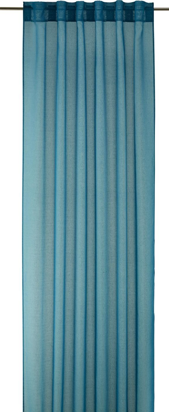 Končana Zavesa Tosca -2-delni Set -eö- - petrolej, tekstil (140/245cm) - Mömax modern living