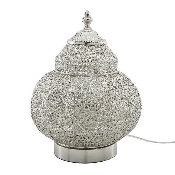 Namizna Svetilka Orient 4 - nikelj, Trendi, kovina (20/27cm) - Mömax modern living