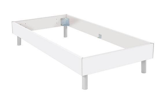 Futonska Postelja Belia - aluminij, kovina/leseni material (90/200cm) - Mömax modern living