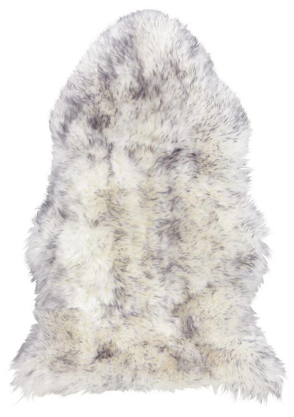 Schaffell Lea in Grau, ca. 60x90cm - Grau, ROMANTIK / LANDHAUS, Textil (60/90cm) - Mömax modern living