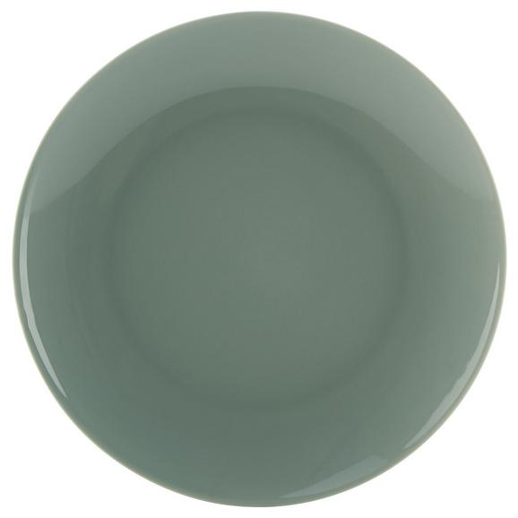Farfurie Pentru Desert Sandy - verde mentă, Konventionell, ceramică (20,4/1,8cm) - Mömax modern living