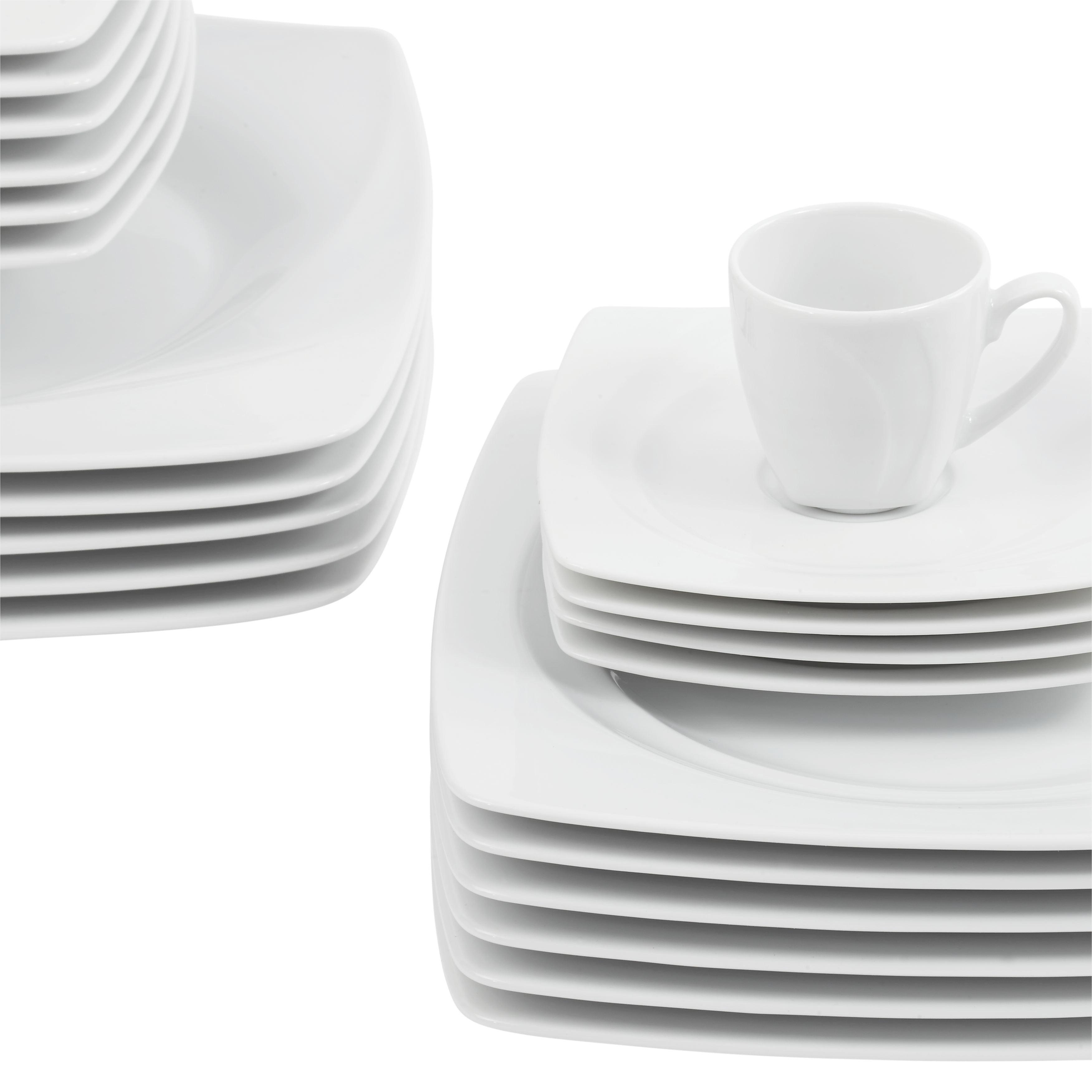 Étkészlet Celebration - fehér, modern, kerámia (40/35/36.5cm) - MÖMAX modern living