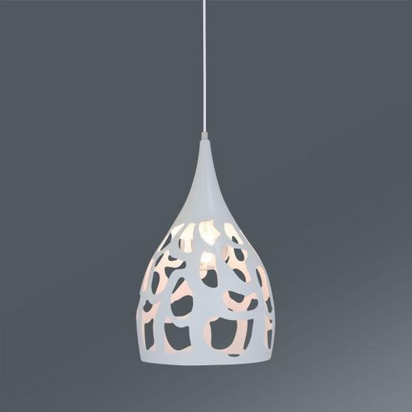 Viseča Svetilka Juna - bela, Trendi, kovina/umetna masa (25/149cm) - Mömax modern living