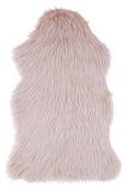 Schaffell Marina Rosa/Weiß - Rosa/Weiß, Textil (60/90cm) - Modern Living
