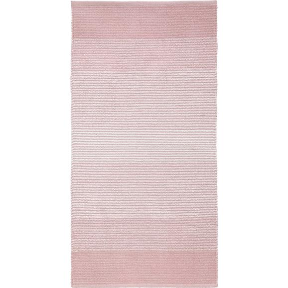 Fleckerlteppich Malto in Rosa ca. 70x140cm - Rosa, MODERN, Textil (70/140cm) - Mömax modern living