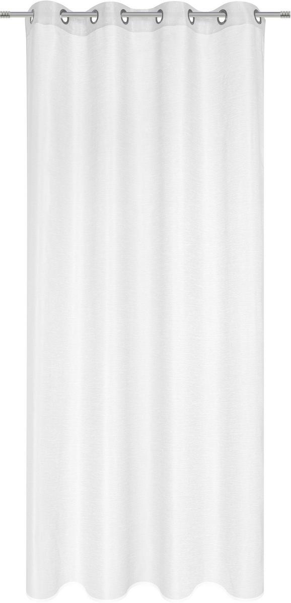 Ösenschal Dolly, ca. 140x245cm - Anthrazit/Rot, Textil (140/245cm) - MÖMAX modern living
