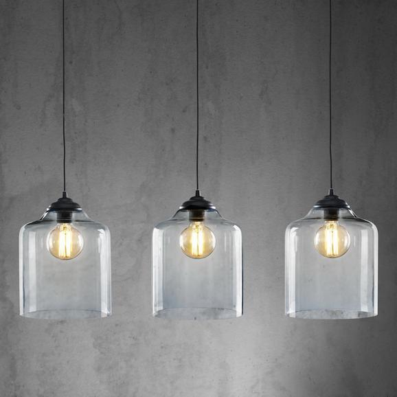 Pendelleuchte Estera 3-flammig - MODERN, Glas/Metall (95/24/120cm) - Premium Living
