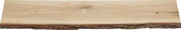 Wandboard Eichefarben - Eichefarben, Holz (80/2/23,5cm) - Mömax modern living