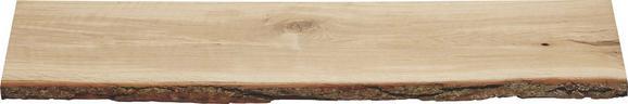Wandboard in Eichenrinde - Eichefarben, Holz (80/2/23,5cm) - Mömax modern living