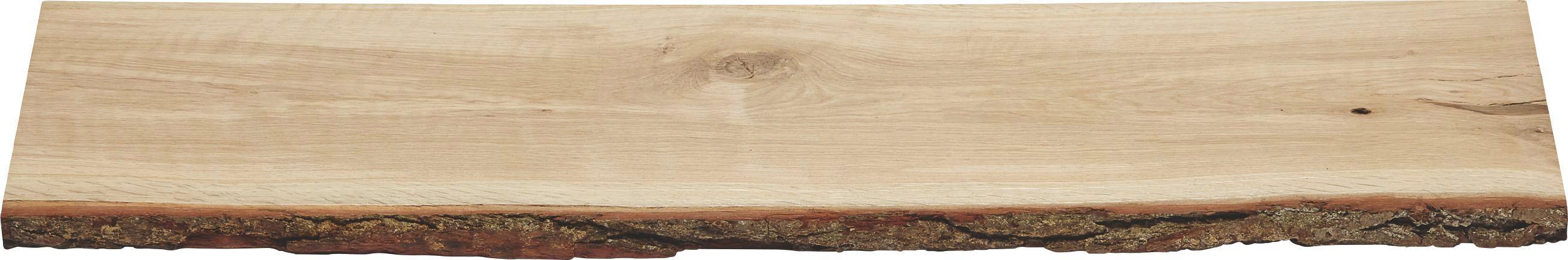 Wandboard In Eichenrinde   Eichefarben, Holz (80/2/23,5cm)