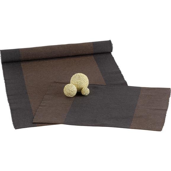 Nadprt Brando - črna/baker, Trendi, tekstil (45/150cm) - Mömax modern living