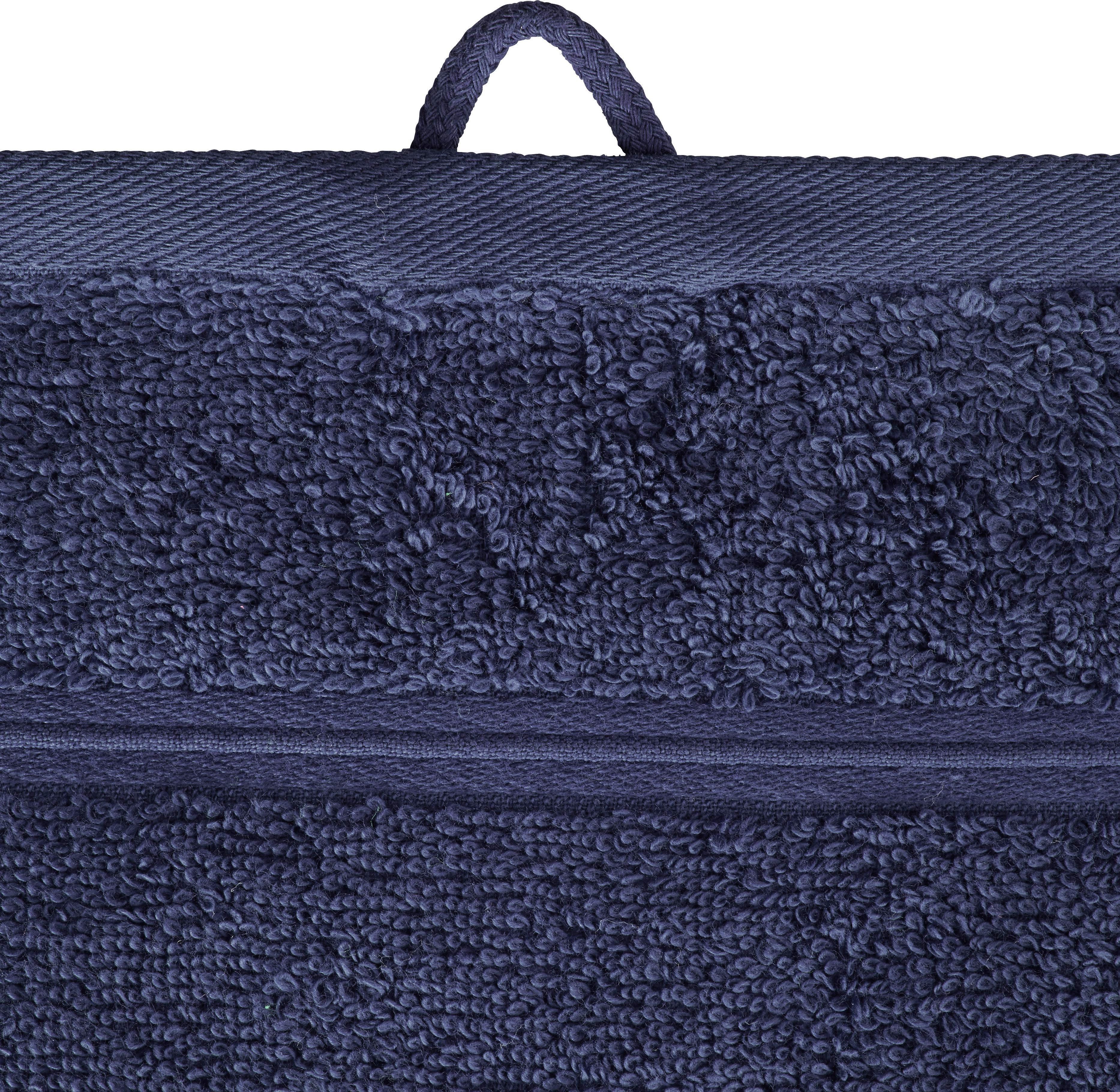 Handtuch Melanie in Blau - Blau, Textil (50/100cm) - MÖMAX modern living