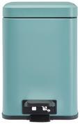 Treteimer Larissa Blau - Blau, ROMANTIK / LANDHAUS, Kunststoff/Metall (20/20/30,5cm) - Premium Living