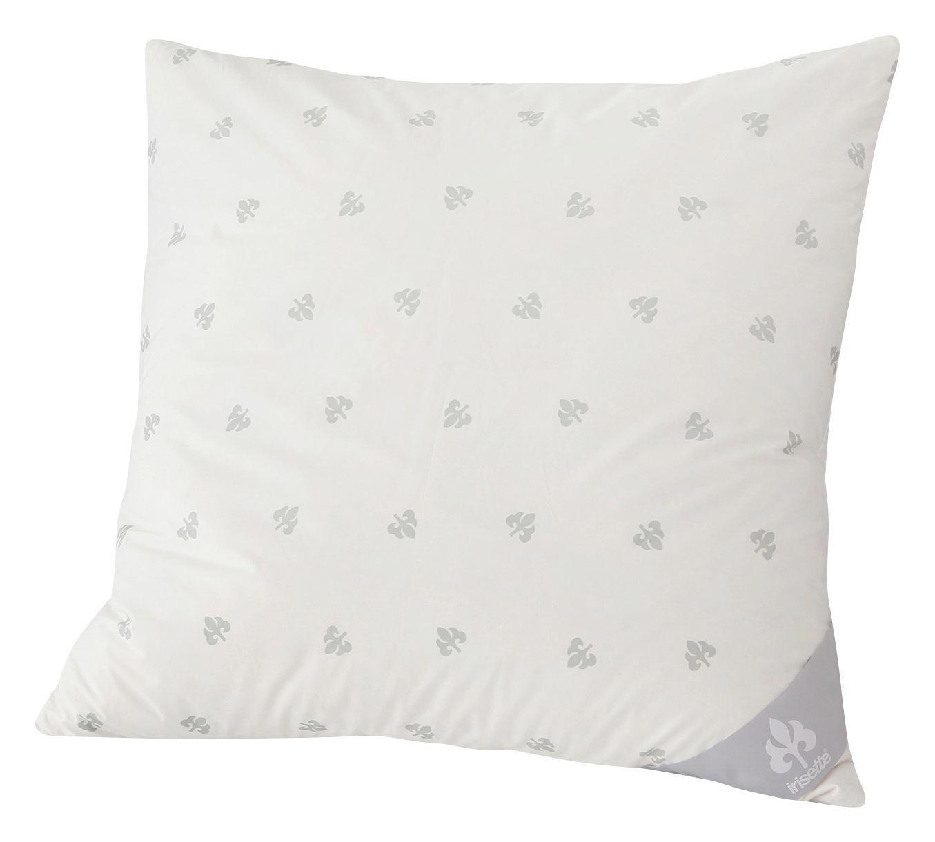 Dreikammer Kissen Irisette 80x80cm - Weiß, KONVENTIONELL, Textil/Weitere Naturmaterialien (80/80cm) - IRISETTE