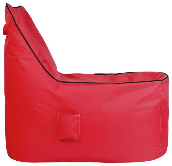 Vreča Za Sedenje Cortona - modra/rdeča, Moderno, tekstil (100/90/70cm) - Mömax modern living