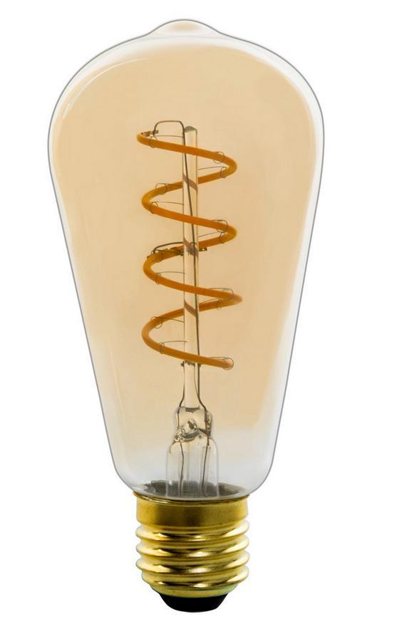 Deko-Leuchtmittel 11405fma max. 4 Watt - Graphitfarben, Glas (6,4/14,1cm) - Mömax modern living