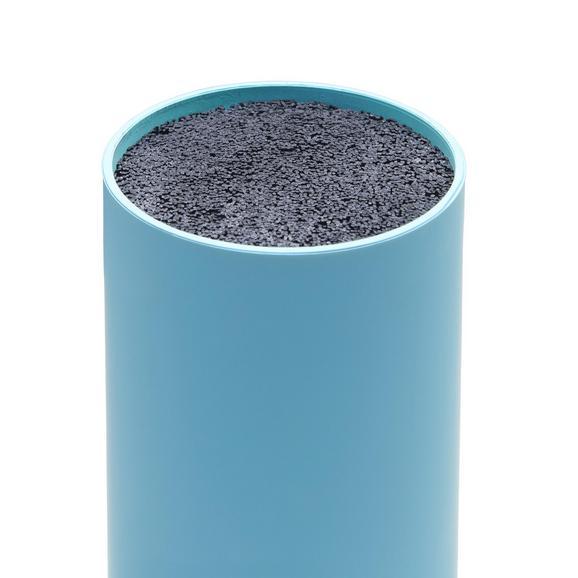 Messerbank Thorsten aus Kunststoff - Petrol, KONVENTIONELL, Kunststoff (11/22,5cm) - Mömax modern living