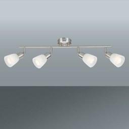 Reflektor Ela - nikelj, kovina/steklo (55/8,5/20cm) - Mömax modern living