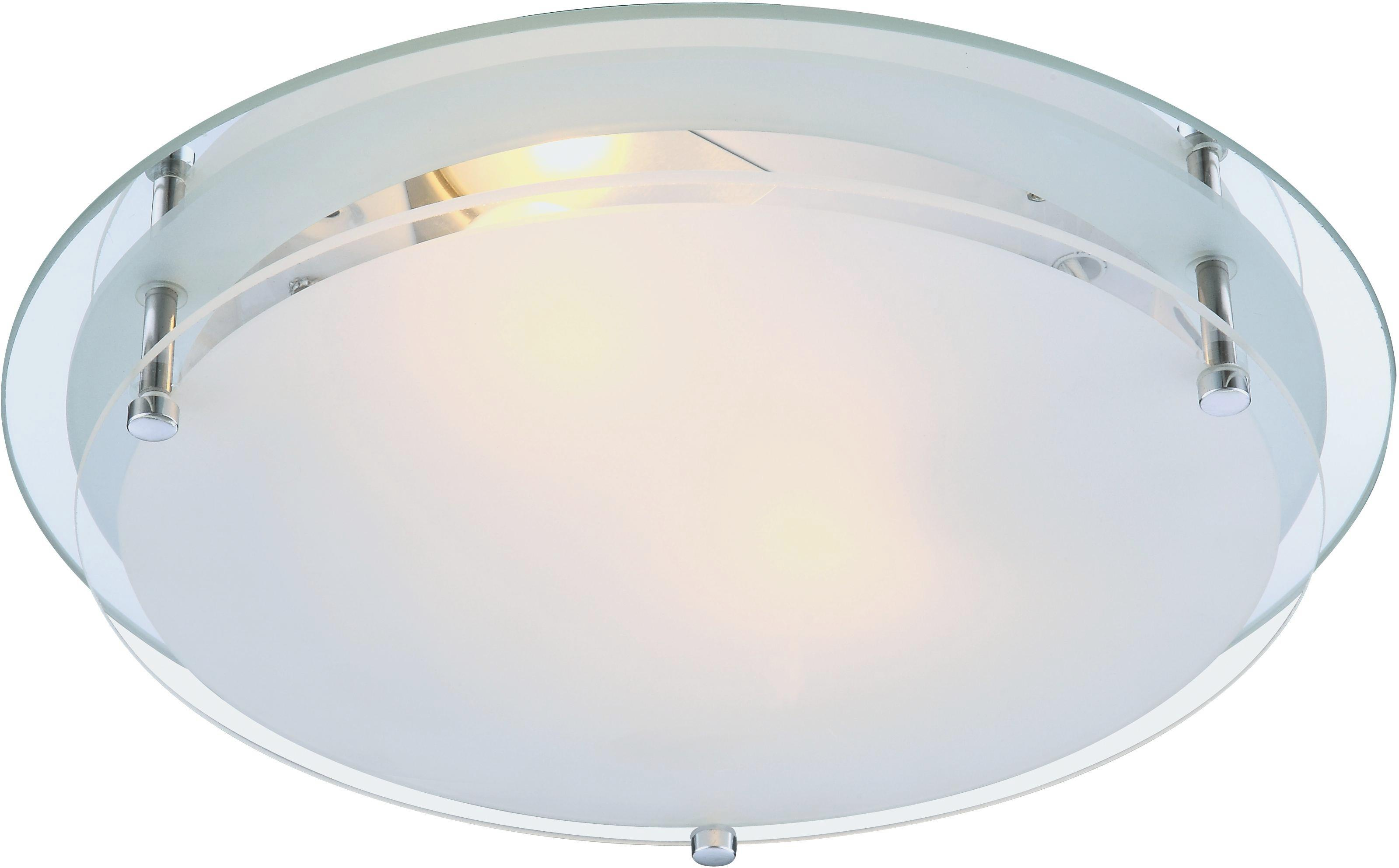 Mennyezeti Lámpa Adam - konvencionális, üveg/fém (31.5/7.5cm)