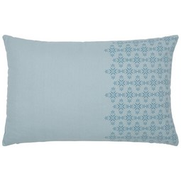 Díszpárna Agnes - Kék, modern, Textil (40/60cm) - Mömax modern living