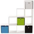 Mobilier Despărțitor Pisa - alb, Modern, compozit lemnos (149/150/35cm)