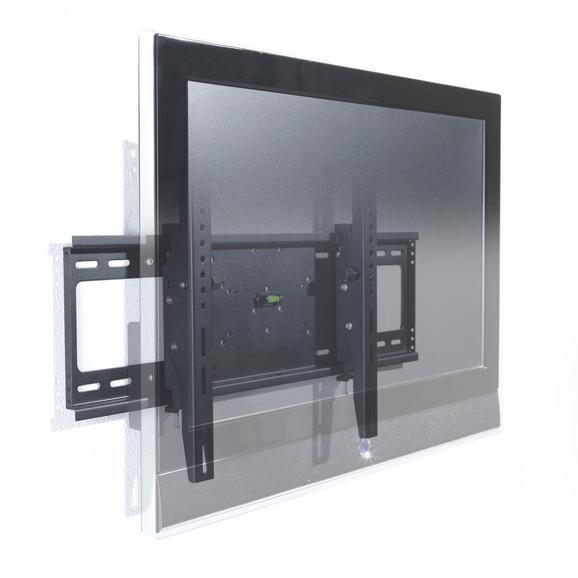 TV-Wandhalter in Schwarz aus Metall - Schwarz, Metall (54/23/7cm) - Mömax modern living
