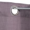 Perdea Cu Inele Tip Capsă Ulli - maro, textil (140/245cm) - Modern Living