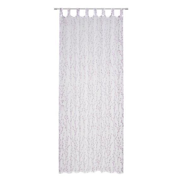 Perdea Cu Bride Christiane - lila, Konventionell, textil (140/250cm) - Modern Living