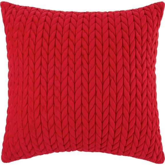Okrasna Blazina Heidi - rdeča, Romantika, tekstil (45/45cm) - Mömax modern living