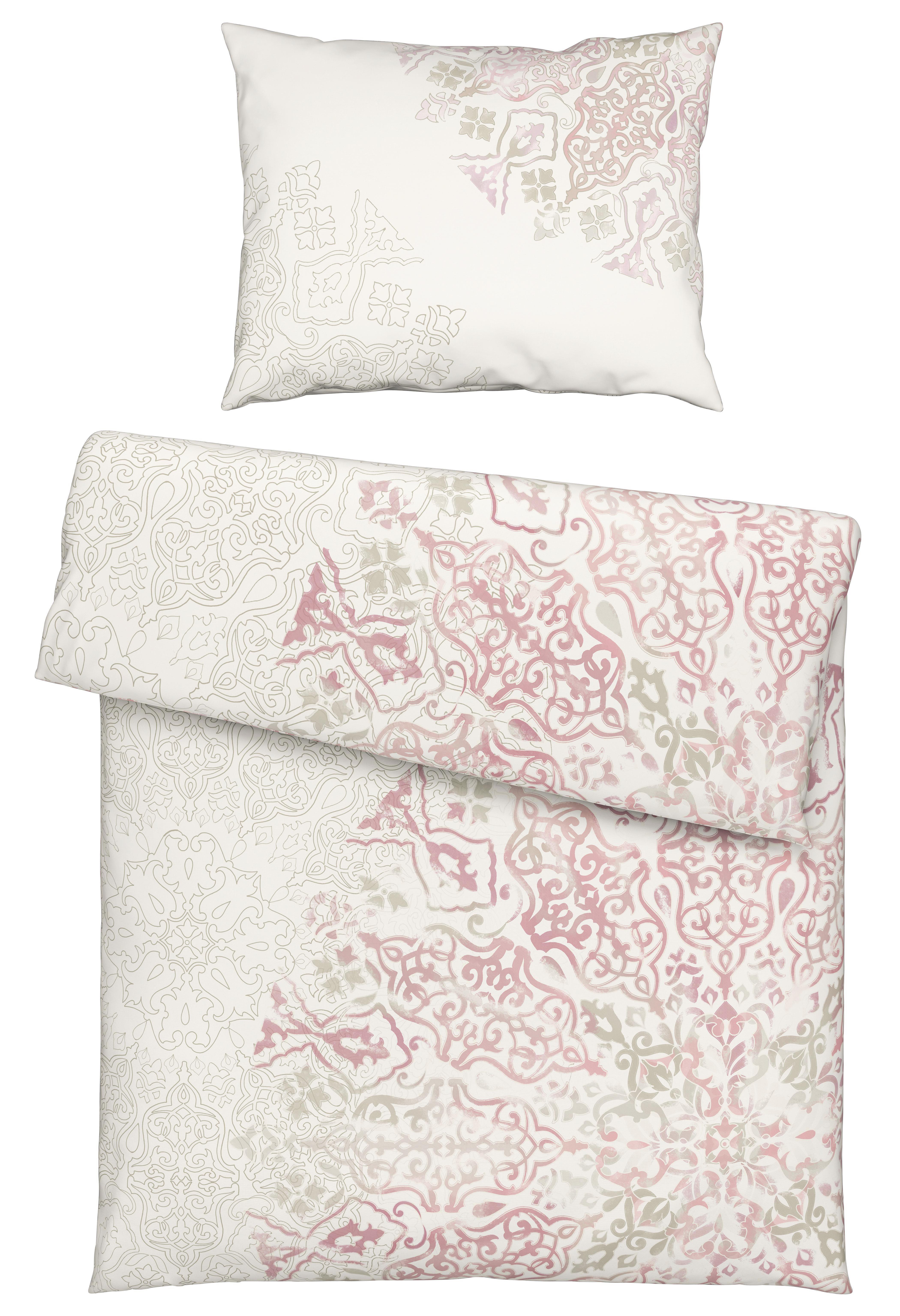 Ágyneműhuzat- Garnitúra Gabrielle - rózsaszín, konvencionális, textil (140/200cm) - MÖMAX modern living