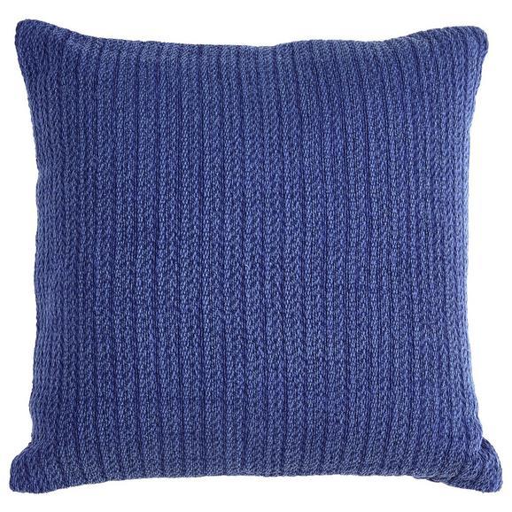 Zierkissen Gitta Blau 43x43cm - Blau, MODERN, Textil (43/43cm) - Mömax modern living
