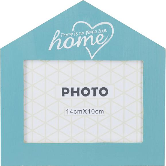 Okvir Za Slike Home - modra/bela, steklo/les (18/18cm) - Mömax modern living