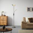 Stoječa Svetilka Lupo - bela, Konvencionalno, kovina/steklo (30/180cm) - Mömax modern living