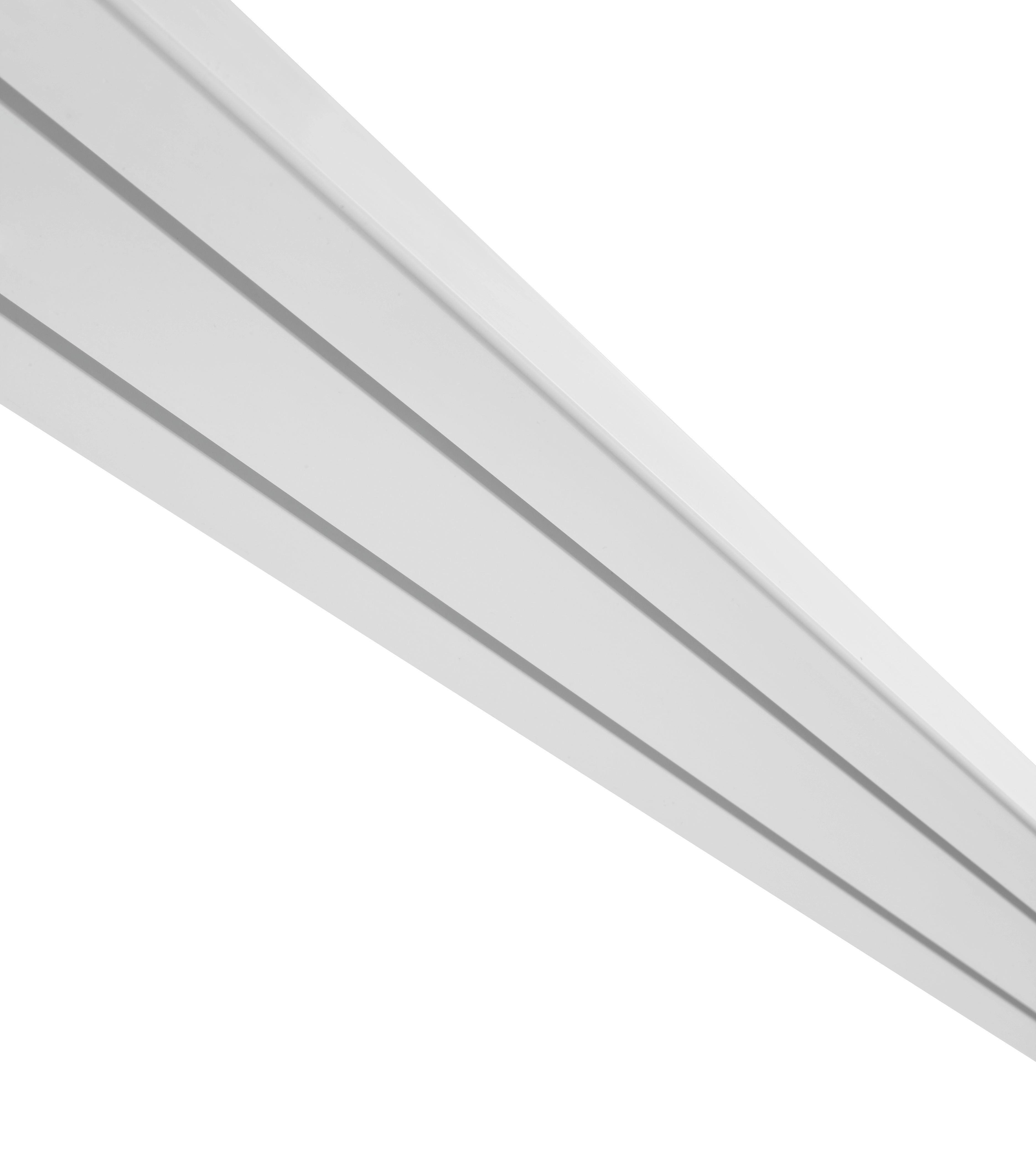 Függönysín 2 Sínes - fehér, műanyag (120/7.8/1.7cm) - MÖMAX modern living