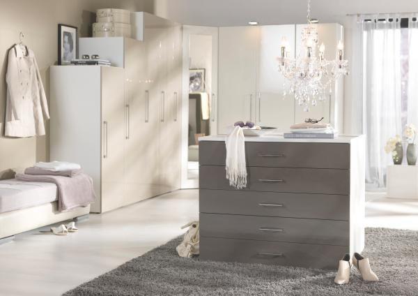Drehtürenschrank in Weiß 2-türig - Weiß, MODERN, Holzwerkstoff (100/208/57cm) - premium living