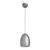 Pendelleuchte Bora - Silberfarben, MODERN, Metall (16,5/16,5/127cm) - Bessagi Home