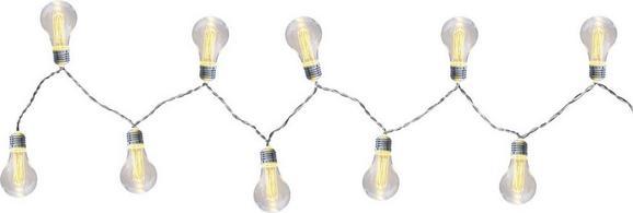 Lichterkette Fanal aus Kunststoff - Kunststoff/Metall (180cm)