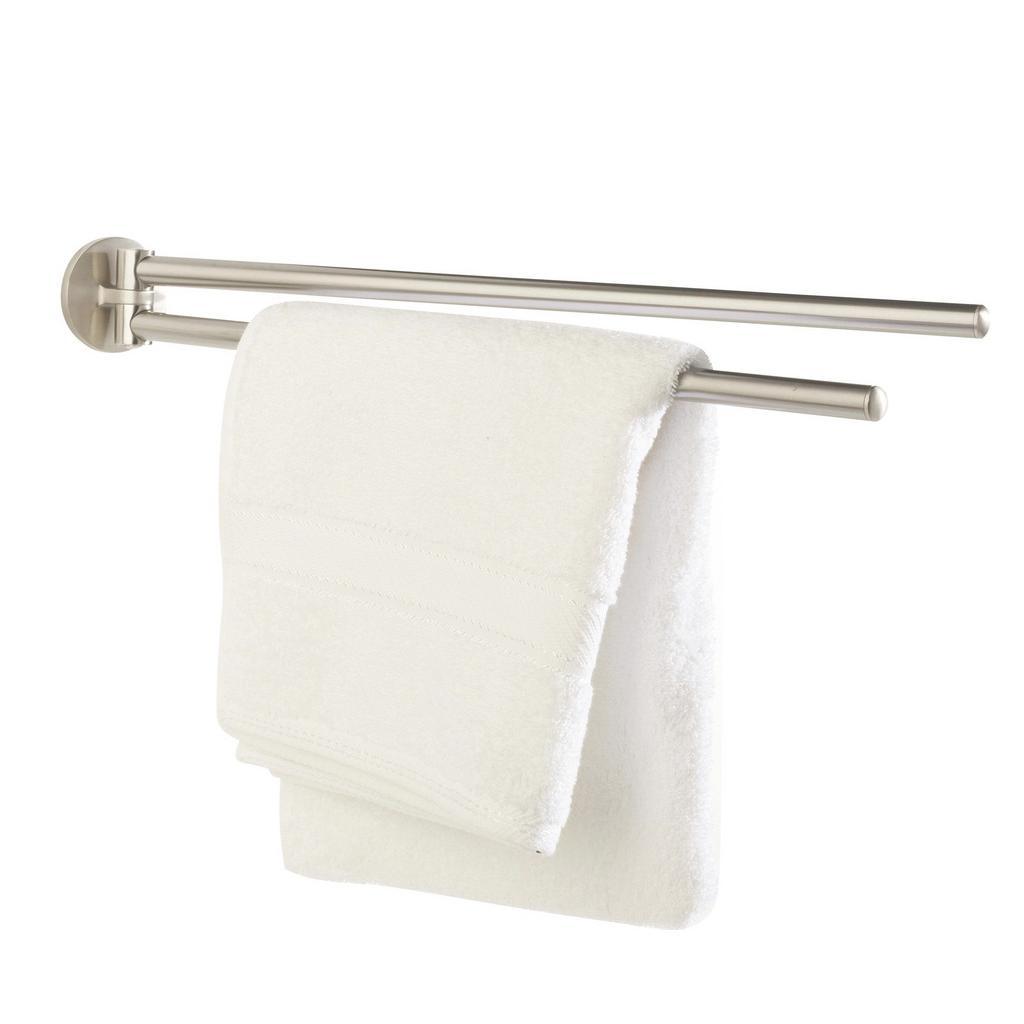 Handtuchhalter Edelstahlfarben