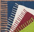 Fleckerlteppich Julia Dunkelblau 70x130cm - Dunkelblau, ROMANTIK / LANDHAUS, Textil (70/130cm) - Mömax modern living