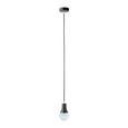 Hängeleuchte max. 60 Watt 'Padina' - Schwarz, Kunststoff/Metall (9/92cm) - Bessagi Home