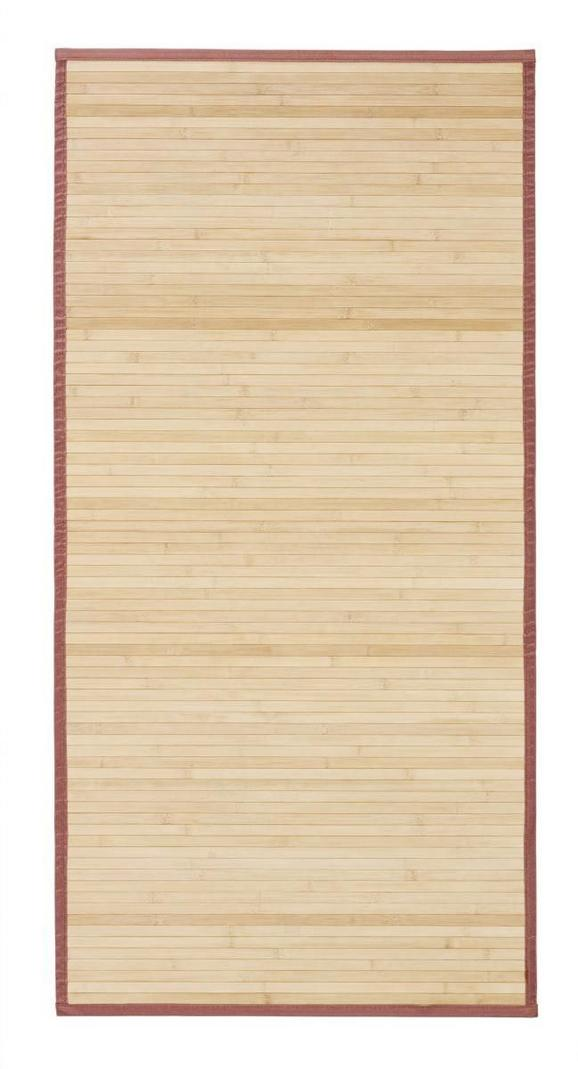 Preproga Natascha - rjava, Konvencionalno, les (140/200cm) - Mömax modern living
