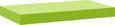 Stenska Polica Anja Pistacija - svetlo zelena, leseni material (50/4,4/24cm) - Mömax modern living