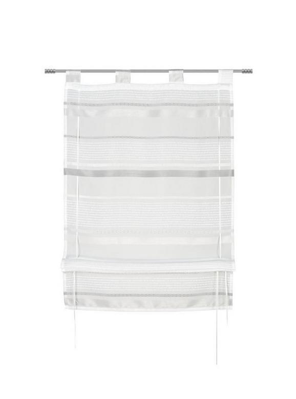 Bändchenrollo Adele in Grau, ca. 80x140cm - Grau, KONVENTIONELL, Textil (80/140cm) - MÖMAX modern living