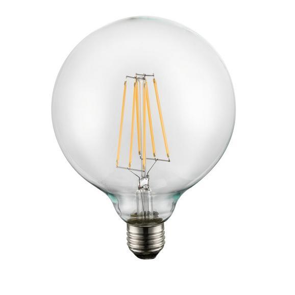 LED-Leuchtmittel 10586, max. 10 Watt - Klar, Glas/Metall (12,5/17,5cm)