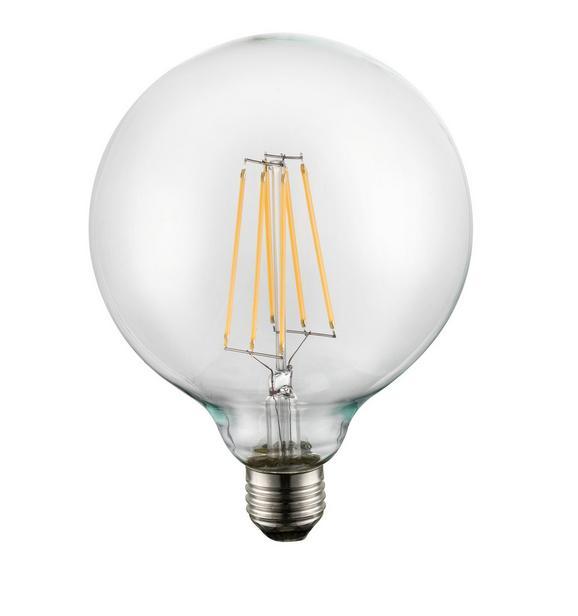 Led-žarnica 10586 - prozorna, kovina/steklo (12,5/17,5cm)