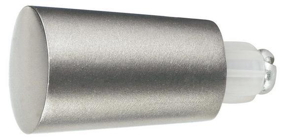 Endstück Combi Tulpe aus Metall - Edelstahlfarben, MODERN, Metall (1/1/1cm) - MÖMAX modern living
