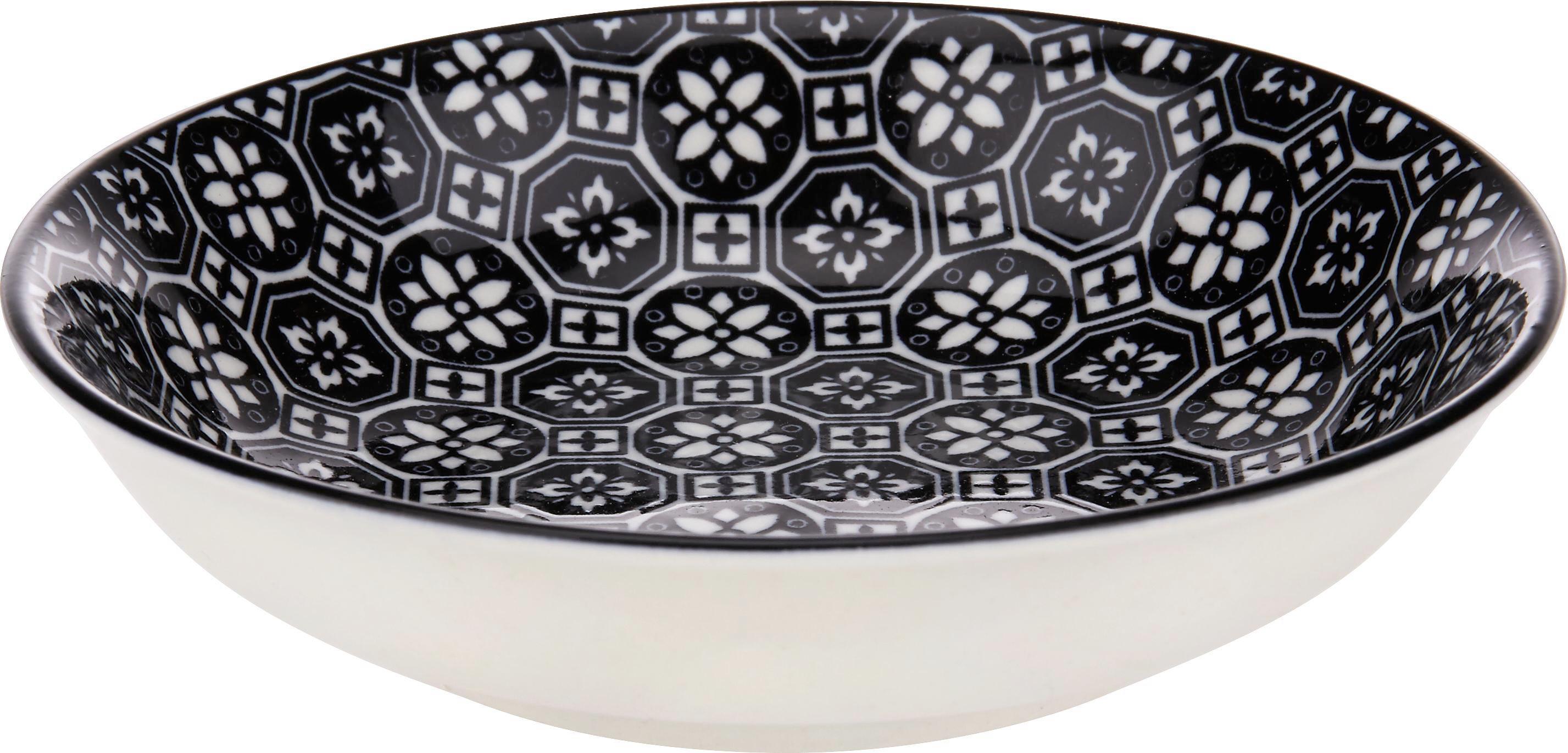 Tál Shiva - fekete/fehér, Lifestyle, kerámia (9,5/2cm) - MÖMAX modern living